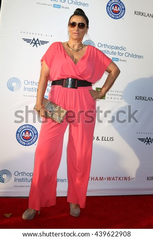 LOS ANGELES - JUN 18: Alice Amter at the Stand For Kids Gala at the Twentieth Century Fox Studios Lot on  ,  June 18, 2016 in Century City, CA - stock photo
