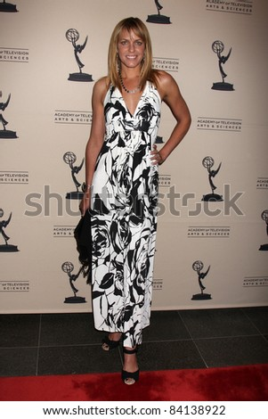 LOS ANGELES - JUN 16:  Arianne Zucker arriving at the Academy of Television Arts and Sciences Daytime Emmy Nominee Reception at SLS Hotel at Beverly Hills on June 16, 2011 in Beverly Hills, CA - stock photo