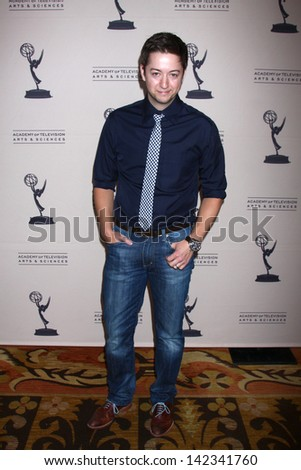 LOS ANGELES - JUN 13:  Bradford Anderson arrives at the Daytime Emmy Nominees Reception presented by ATAS at the Montage Beverly Hills on June 13, 2013 in Beverly Hills, CA - stock photo