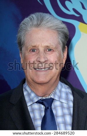 """LOS ANGELES - JUN 2:  Brian Wilson at the """"Love & Mercy"""" Los Angeles Premiere at the Academy of Motion Picture Arts & Sciences on June 2, 2015 in Los Angeles, CA - stock photo"""