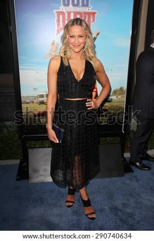"LOS ANGELES - JUN 24:  Brittany Daniel at the ""Joe Dirt 2: Beautiful Loser"" Premiere at the Sony Studios on June 24, 2015 in Culver City, CA - stock photo"