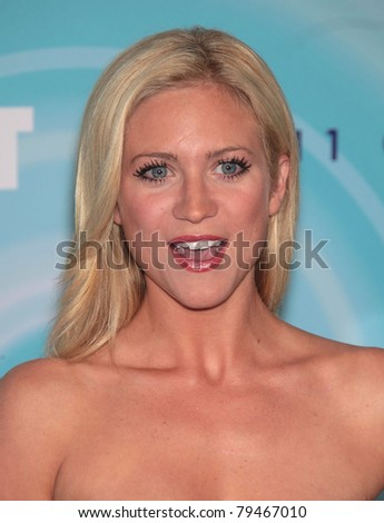 LOS ANGELES - JUN 16:  Brittany Snow arrives to the 2011WIF Crystal & Lucy Awards  on June 16,2011 in Beverly Hills, CA - stock photo