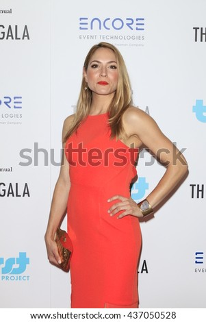 LOS ANGELES - JUN 13:  Brooke Nevin at the 7th Annual Thirst Gala at the Beverly Hilton Hotel on June 13, 2016 in Beverly Hills, CA - stock photo