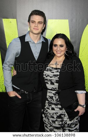 "LOS ANGELES - JUN 25:  Cameron Deane Stewart, Nikki Blonsky arrives at the ""Savages"" Premiere at Village Theater on June 25, 2012 in Westwood, CA"