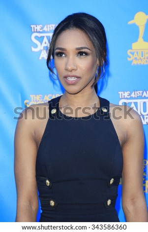 LOS ANGELES - JUN 25:  Candice Patton at the 41st Annual Saturn Awards Arrivals at the The Castaways on June 25, 2015 in Burbank, CA - stock photo
