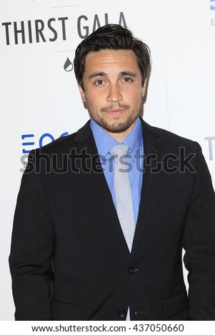 LOS ANGELES - JUN 13:  Chester See at the 7th Annual Thirst Gala at the Beverly Hilton Hotel on June 13, 2016 in Beverly Hills, CA - stock photo