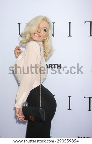 """LOS ANGELES - JUN 24:  Courtney Stodden at the """"Unity"""" Documentary World Premeire at the Director's Guild of America on June 24, 2015 in Los Angeles, CA - stock photo"""