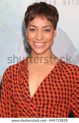 LOS ANGELES - JUN 27:  Cush Jumbo at The Legend Of Tarzan Premiere at the Dolby Theater on June 27, 2016 in Los Angeles, CA - stock photo