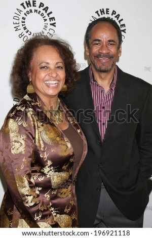 LOS ANGELES - JUN 4:  Daphne Maxwell Reid, Tim Reid at the Baby, If You've Ever Wondered: A WKRP in Cincinnati Reunion at Paley Center For Media on June 4, 2014 in Beverly Hills, CA - stock photo