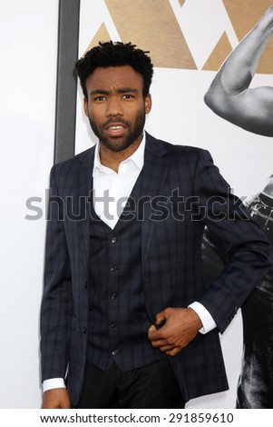 "LOS ANGELES - JUN 25:  Donald Glover at the ""Magic Mike XXL"" Premiere at the TCL Chinese Theater on June 25, 2015 in Los Angeles, CA