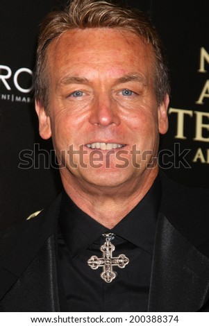 LOS ANGELES - JUN 22:  Doug Davidson at the 2014 Daytime Emmy Awards Arrivals at the Beverly Hilton Hotel on June 22, 2014 in Beverly Hills, CA - stock photo