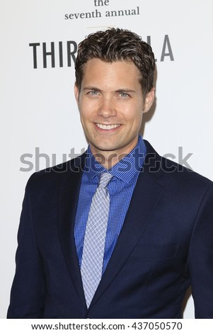 LOS ANGELES - JUN 13:  Drew Seeley at the 7th Annual Thirst Gala at the Beverly Hilton Hotel on June 13, 2016 in Beverly Hills, CA - stock photo
