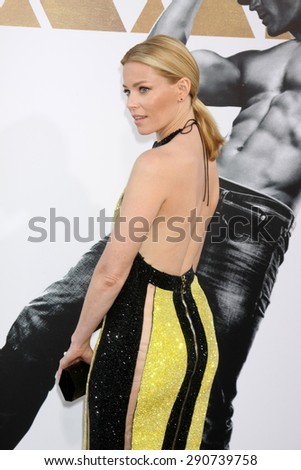 "LOS ANGELES - JUN 25:  Elizabeth Banks at the ""Magic Mike XXL"" Premiere at the TCL Chinese Theater on June 25, 2015 in Los Angeles, CA - stock photo"