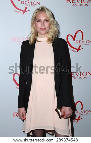 LOS ANGELES - JUN 3:  Erin Foster at the Halle Berry And Revlon Celebrate Achievements In Cancer Research at the Four Seasons Hotel on June 3, 2015 in Los Angeles, CA - stock photo