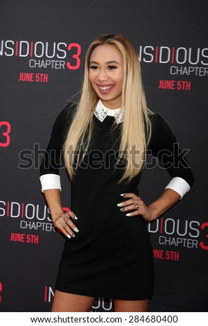 "LOS ANGELES - JUN 4:  Eva Gutowski at the ""Insidious Chapter 3"" Premiere at the TCL Chinese Theater on June 4, 2015 in Los Angeles, CA"