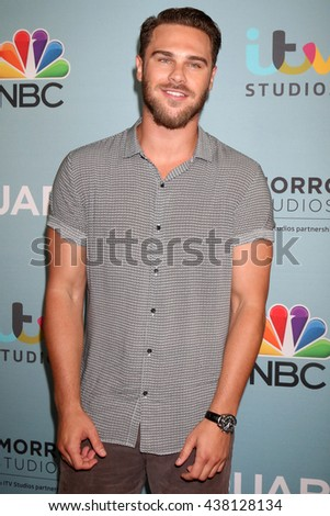 LOS ANGELES - JUN 16:  Grey Damon at the Aquarius Season 2 Premiere Screening Arrivals at the Paley Center For Media on June 16, 2016 in Beverly Hills, CA - stock photo