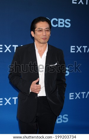 "LOS ANGELES - JUN 16:  Hiroyuki Sanada at the ""Extant"" Premiere Screening at the California Science Center on June 16, 2014 in Los Angeles, CA"