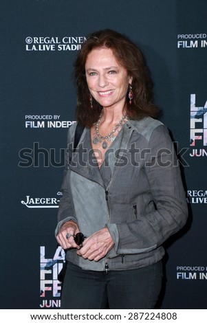 "LOS ANGELES - JUN 10:  Jacqueline Bisset at the ""Grandma"" Premiere at the Regal Theaters on June 10, 2015 in Los Angeles, CA"