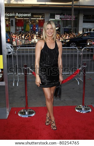LOS ANGELES - JUN 30: Jennifer Aniston at the Premiere of 'Horrible Bosses' at Grauman's Chinese Theatre on June 30, 2011 in Los Angeles, California - stock photo