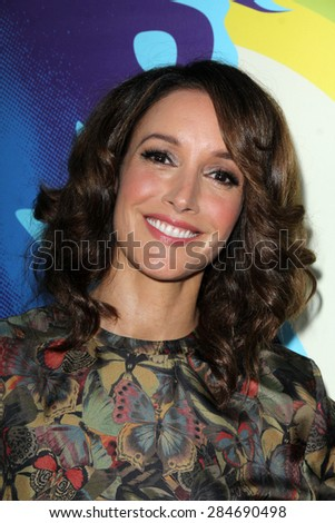 """LOS ANGELES - JUN 2:  Jennifer Beals at the """"Love & Mercy"""" Los Angeles Premiere at the Academy of Motion Picture Arts & Sciences on June 2, 2015 in Los Angeles, CA - stock photo"""