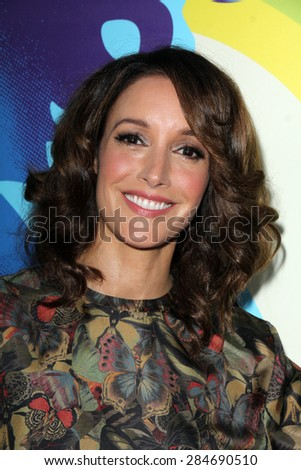 "LOS ANGELES - JUN 2:  Jennifer Beals at the ""Love & Mercy"" Los Angeles Premiere at the Academy of Motion Picture Arts & Sciences on June 2, 2015 in Los Angeles, CA - stock photo"