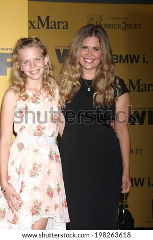 LOS ANGELES - JUN 11:  Jennifer Lee, daughter at the Women In Film 2014 Crystal + Lucy Awards at Century Plaza Hotel on June 11, 2014 in Beverly Hills, CA - stock photo