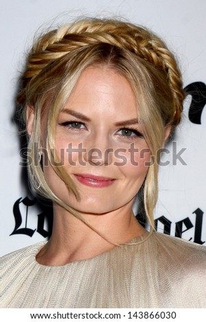 "LOS ANGELES - JUN 26:  Jennifer Morrison arrives at the ""Some Girl(s)"" Premiere at the Laemmle Noho Theater on June 26, 2013 in North Hollywood, CA - stock photo"