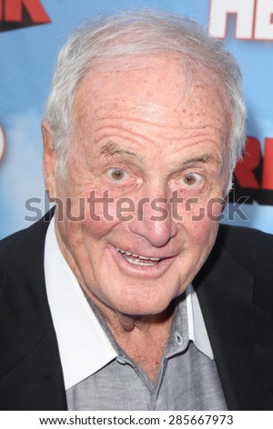 "LOS ANGELES - JUN 8:  Jerry Weintraub at the HBO's ""The Brink"" Premiere at the Paramount Studios on June 8, 2015 in Los Angeles, CA"