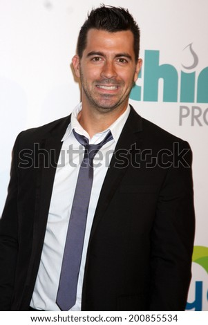 LOS ANGELES - JUN 24:  Joe Nation at the 5th Annual Thirst Gala at the Beverly Hilton Hotel on June 24, 2014 in Beverly Hills, CA - stock photo