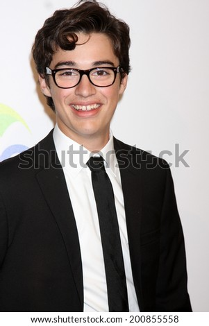 LOS ANGELES - JUN 24:  Joey Bragg at the 5th Annual Thirst Gala at the Beverly Hilton Hotel on June 24, 2014 in Beverly Hills, CA