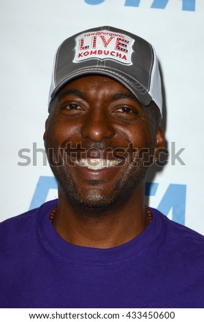 LOS ANGELES - JUN 7:  John Salley at the Peta Celebrates Prince on his Birthday at the Peta's Bob Barker Building on June 7, 2016 in Los Angeles, CA