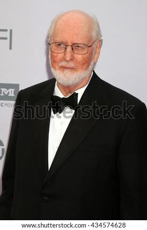 LOS ANGELES - JUN 9:  John Williams at the American Film Institute 44th Life Achievement Award Gala Tribute to John Williams at the Dolby Theater on June 9, 2016 in Los Angeles, CA - stock photo