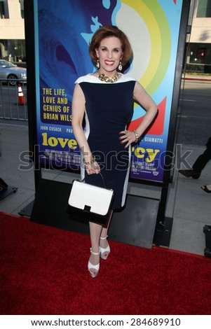 """LOS ANGELES - JUN 2:  Kat Kramer at the """"Love & Mercy"""" Los Angeles Premiere at the Academy of Motion Picture Arts & Sciences on June 2, 2015 in Los Angeles, CA - stock photo"""