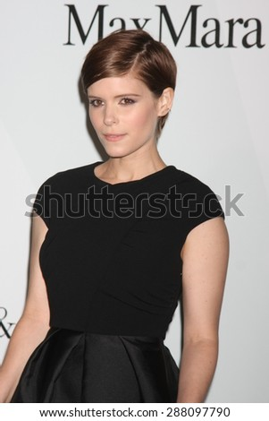 LOS ANGELES - JUN 16:  Kate Mara at the Women In Film 2015 Crystal + Lucy Awards at the Century Plaza Hotel on June 16, 2015 in Century City, CA - stock photo