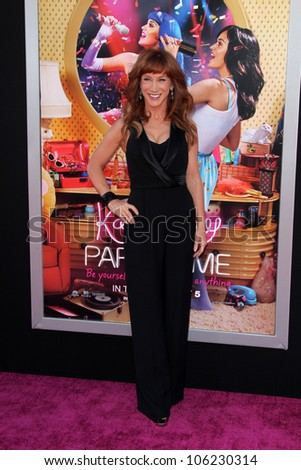 "LOS ANGELES - JUN 26:  Kathy Griffin arrives at the ""Katy Perry: Part Of Me"" Premiere at Graumans Chinese Theater on June 26, 2012 in Los Angeles, CA"