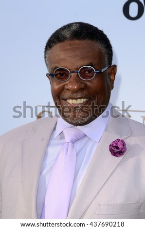 LOS ANGELES - JUN 15:  Keith David at the Greenleaf OWN Series Premiere at the The Lot on June 15, 2016 in West Hollywood, CA - stock photo