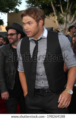 "LOS ANGELES - JUN 10:  Kellan Lutz at the ""22 Jump Street"" Premiere at Village Theater on June 10, 2014 in Westwood, CA"
