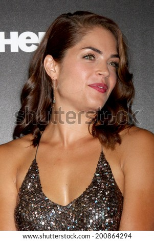 LOS ANGELES - JUN 22:  Kelly Thiebaud at the 2014 Daytime Emmy Awards Arrivals at the Beverly Hilton Hotel on June 22, 2014 in Beverly Hills, CA