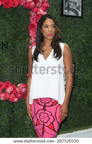LOS ANGELES - JUN 13: Kim Lewis at the  LadyLike Foundation 7th Annual Women Of Excellence Scholarship Luncheon at Luxe Hotel on June 13, 2015 in Los Angeles, California. - stock photo