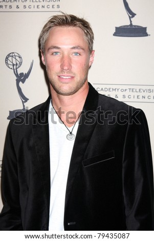 LOS ANGELES - JUN 16:  Kyle Lowder arrives at the Academy of Television Arts and Sciences Daytime Emmy Nominee Reception at SLS Hotel at Beverly Hills on June 16, 2011 in Beverly Hills, CA - stock photo