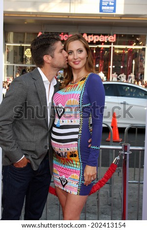 "LOS ANGELES - JUN 30:  Kyle Martino, Eva Amurri Martino at the ""Tammy"" Los Angeles Premiere at the TCL Chinese Theater on June 30, 2014 in Los Angeles, CA"