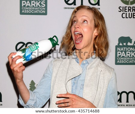 LOS ANGELES - JUN 11:  Laura Regan at the Give Back Day to Celebrate National Park Service Centennial at the Franklin Canyon Park on June 11, 2016 in Beverly Hills, CA - stock photo
