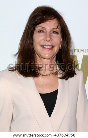 LOS ANGELES - JUN 15:  Lauren Schuler-Donner at the Women In Film 2016 Crystal and Lucy Awards at the Beverly Hilton Hotel on June 15, 2016 in Beverly Hills, CA - stock photo