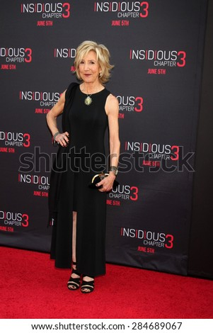 "LOS ANGELES - JUN 4:  Lin Shaye at the ""Insidious Chapter 3"" Premiere at the TCL Chinese Theater on June 4, 2015 in Los Angeles, CA"