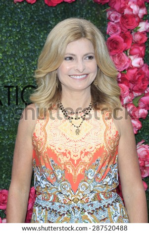 LOS ANGELES - JUN 13: Lisa Bloom at the  LadyLike Foundation 7th Annual Women Of Excellence Scholarship Luncheon at Luxe Hotel on June 13, 2015 in Los Angeles, California. - stock photo