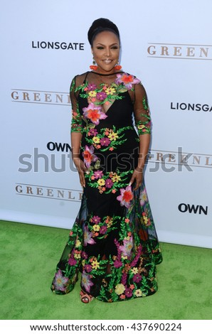 LOS ANGELES - JUN 15:  Lynn Whitfield at the Greenleaf OWN Series Premiere at the The Lot on June 15, 2016 in West Hollywood, CA - stock photo