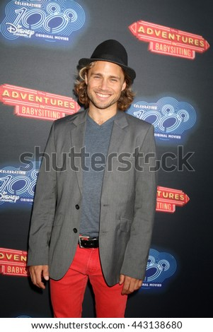 LOS ANGELES - JUN 23:  Max Lloyd Jones at the 100th DCOM Adventures In Babysitting LA Premiere Screening at the Directors Guild of America on June 23, 2016 in Los Angeles, CA - stock photo