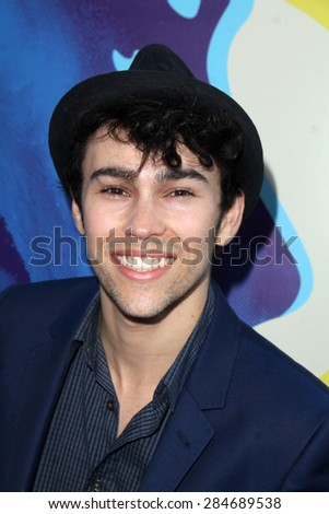 "LOS ANGELES - JUN 2:  Max Schneider at the ""Love & Mercy"" Los Angeles Premiere at the Academy of Motion Picture Arts & Sciences on June 2, 2015 in Los Angeles, CA - stock photo"