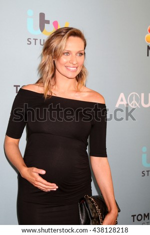 LOS ANGELES - JUN 16:  Michaela McManus at the Aquarius Season 2 Premiere Screening Arrivals at the Paley Center For Media on June 16, 2016 in Beverly Hills, CA - stock photo