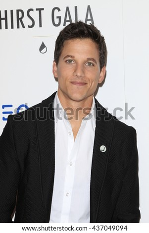 LOS ANGELES - JUN 13:  Mike C Manning at the 7th Annual Thirst Gala at the Beverly Hilton Hotel on June 13, 2016 in Beverly Hills, CA - stock photo